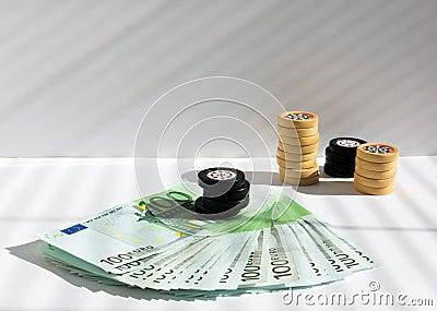 Prize in a casino