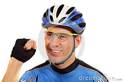 Pro cyclist