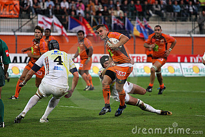 Pro D2 rugby match RCNM vs Stade Montois Editorial Image