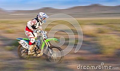Pro Desert Racer Editorial Image