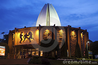 Pro Football Hall of Fame Editorial Stock Image