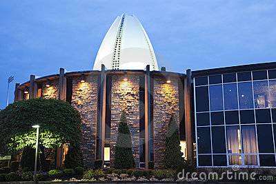 Pro Football Hall of Fame Editorial Stock Photo