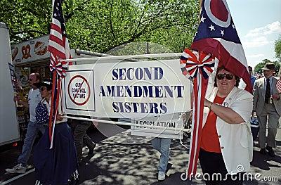 Pro-Gun Activists Editorial Photo