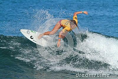 Pro surfer Amy Nichols Editorial Image