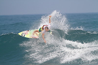 Pro surfer Brian Toth Editorial Stock Image