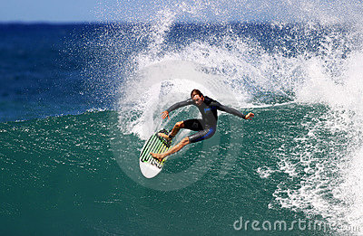Pro Surfer Shane Beschen Surfing Editorial Photography