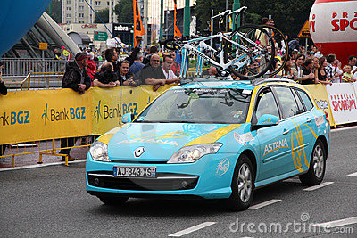 Pro Team Astana Editorial Stock Image
