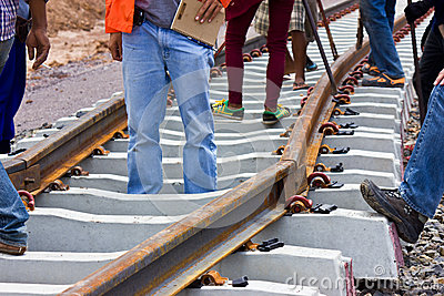 Problem construction of the railway.