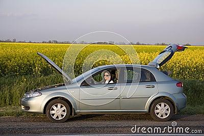 Problema na estrada