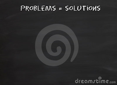 Problems equal solutions