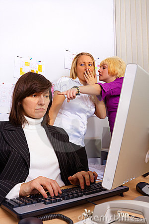 Problems in office relationship