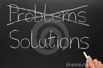 Problems and solutions.