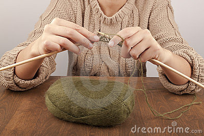 Process of knitting