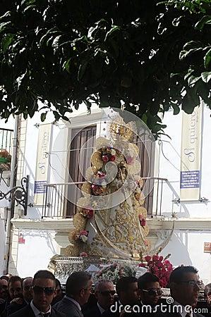 Procession in El Puerto de Santa María (Cadiz)  43 Editorial Image