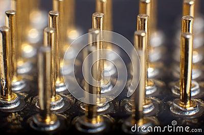 Processor pins macro