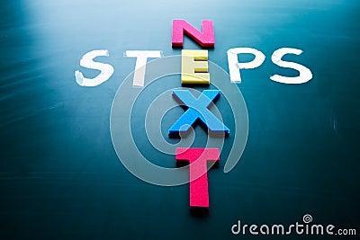 Concept de prochaines étapes