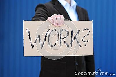 Procurando um trabalho