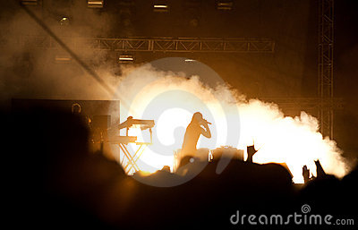 Prodigy concert Editorial Stock Image