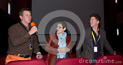 Producer Matthew Fine Q&A, Comedy Cluj Festival Editorial Photography