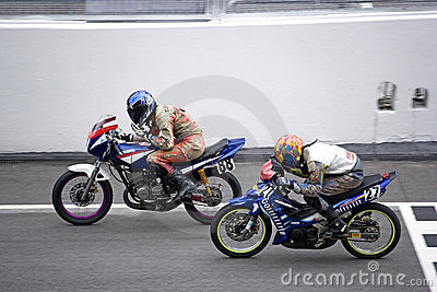 Production Bikes Race Editorial Photography
