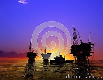 Production of petroleum
