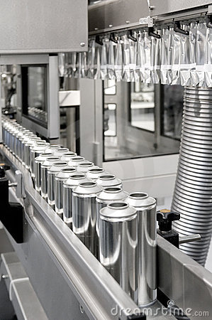 Production of tinplate cans