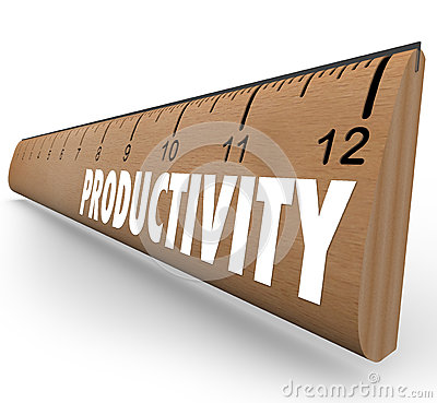 Productivity Measuring Ruler Working Efficiency Education Learni