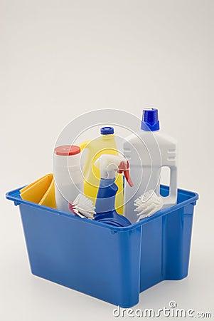 Productos de limpieza del hogar imagen de archivo for Articulos para limpieza del hogar