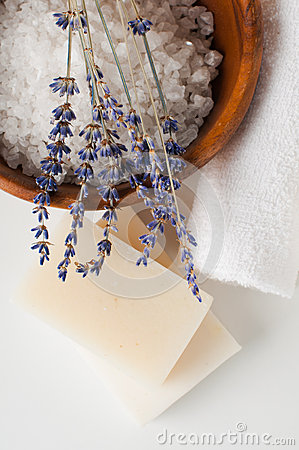 Free Products For Bath, SPA, Wellness And Hygiene Stock Photography - 33771872
