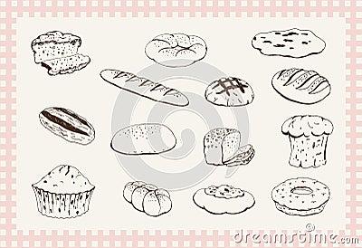 Produtos da padaria
