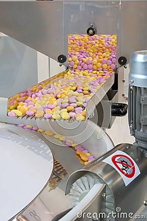 Produzione dei dolci