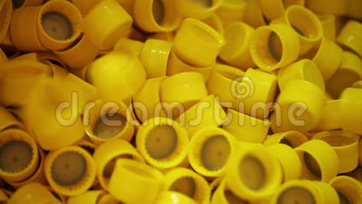 stile limitato il più votato reale nuove varietà Produzione dei tappi di bottiglia di plastica Primo piano.