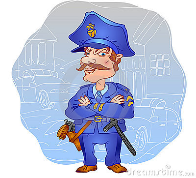 Profession. Policeman.