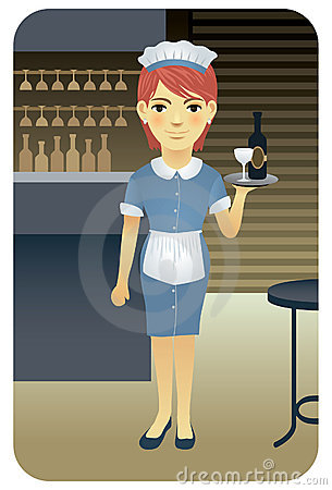 Profession series: Waitress