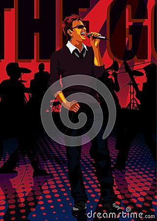 Profession set: band singer