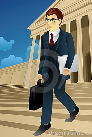Profession set: Businessman