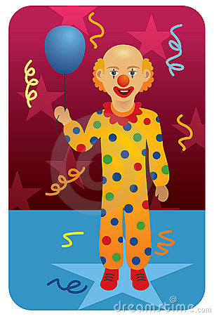 Profession set: Circus Clown
