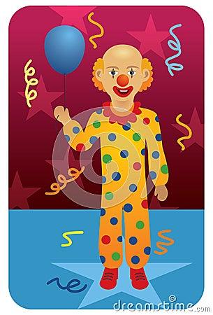 Profession set: Circus Clown