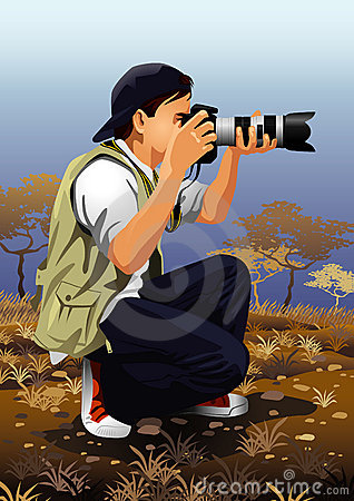 Profession set: photographer
