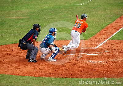 Professional Baseball Game Editorial Photography