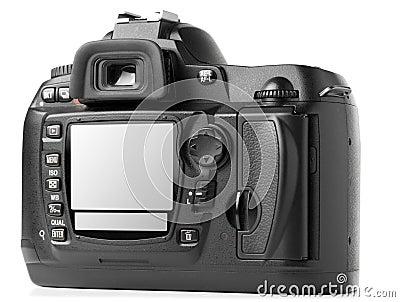 Professional digital photo camera back
