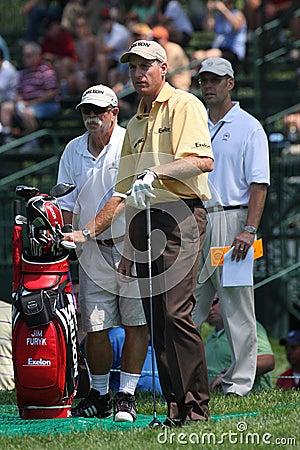 Professional Golfer Jim Furyk Editorial Image