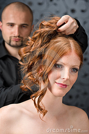 professional s haircuts professional hairdresser at luxury salon stock photo 2237