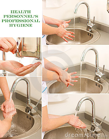 Free Professional Hand Washing Stock Images - 18851554