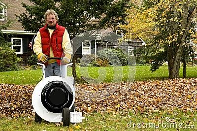 Professional leaf blower