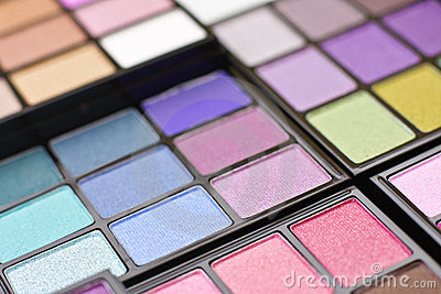 Professional make-up palette