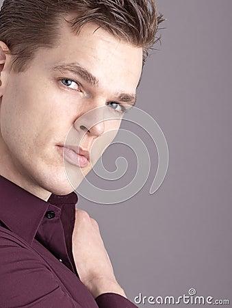 Professional male model