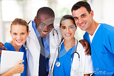 Professional medical team