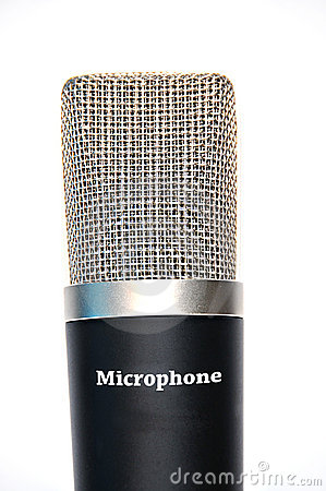 Professional Microphone Royalty Free Stock Photos - Image: 15279898