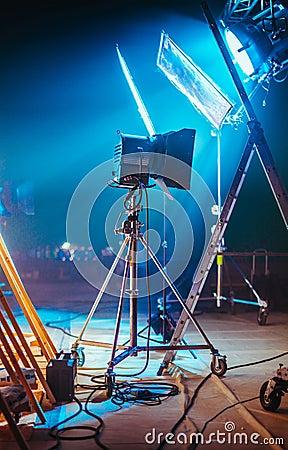 Free Professional Movie Set Royalty Free Stock Photos - 74584788
